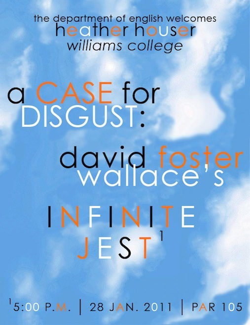 A Case for Disgust: David Foster Wallace's INFINITE JEST