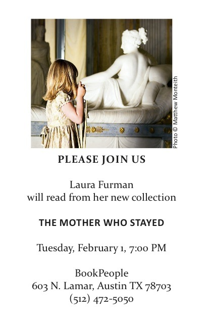 A reading by author Laura Furman.