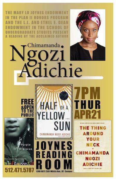 A reading by Chimamanda Ngozi Adichie