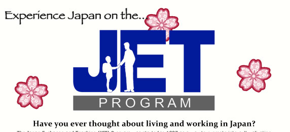 JET (Japan Exchange and Teaching Program) Info Session