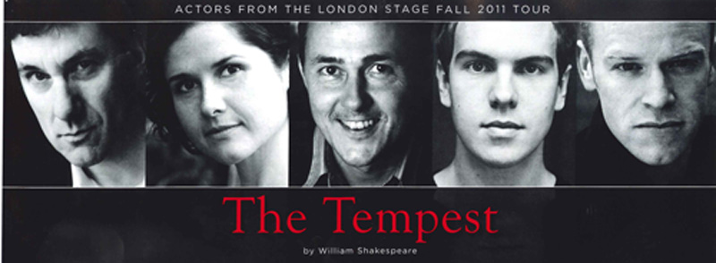 Actors from the London Stage Fall 2011 Residency