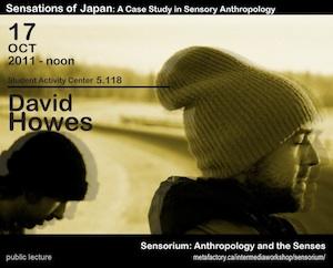 David Howes: Sensations of Japan