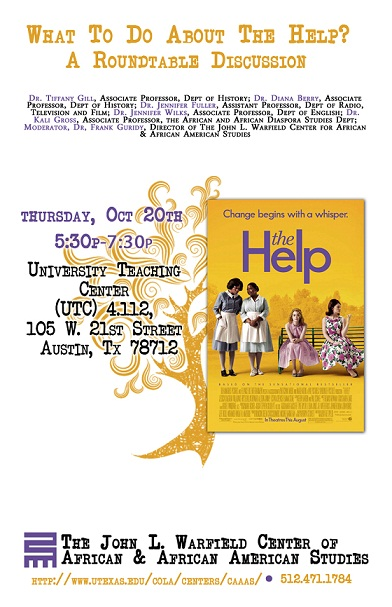 What to Do About the Help: A Roundtable Discussion with Dr. Kali Gross, Dr. Jennifer Fuller,  Dr. Jennifer Wilks, Dr. Daina Berry, and Dr. Tiffany Gill