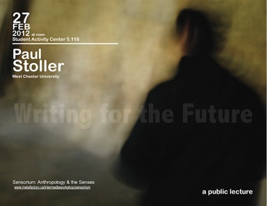 Paul Stoller: Writing for the Future