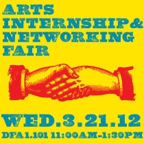 Arts Internship and Netowrking Fair