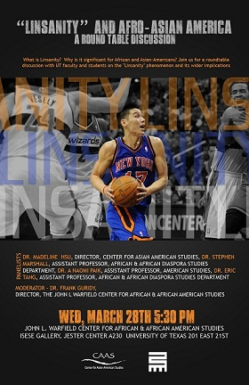 Roundtable Discussion: Linsanity and Afro-Asian America