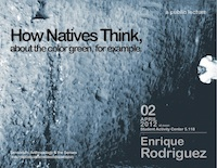 Enrique Rodriguez: How Natives Think