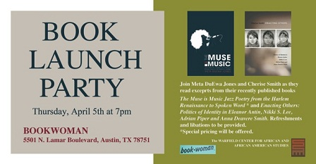 Book Launch Party with Dr. Meta Jones and Dr. Cherise Smith