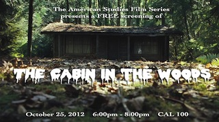 AMS Film Series: Cabin in the Woods