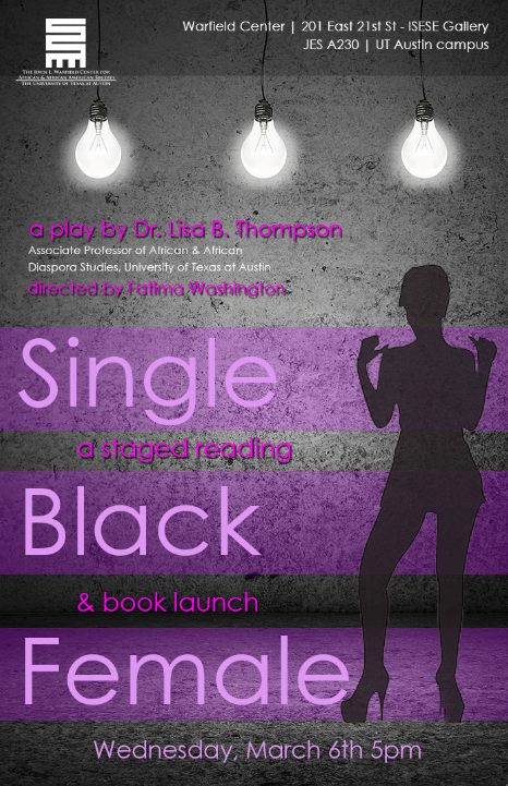 PERFORMING BLACKNESS A STAGED READING & BOOK LAUNCH-