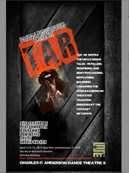WARFIELD CENTER'S PERFORMING BLACKNESS SERIES PRESENTS: TAR