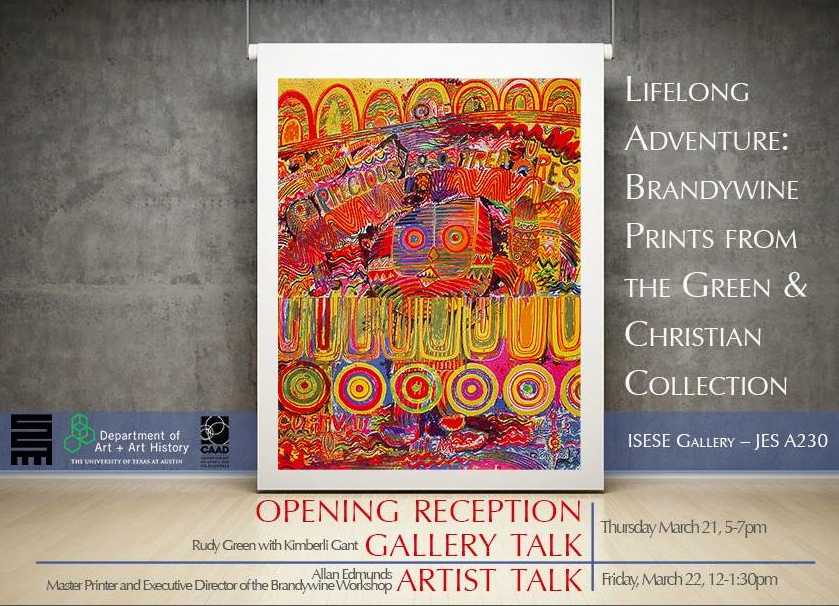 WARFIELD CENTER: GALLERY TALK Lifelong Adventure: Brandywine Prints From The Green & Christian Collection