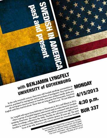 Swedish in America: past and present