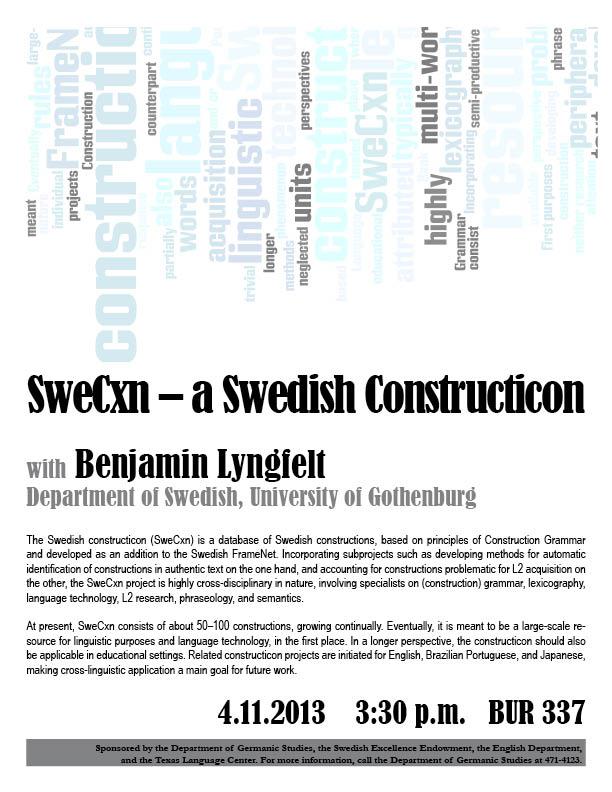 SweCxn – a Swedish Constructicon