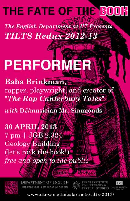 TILTS Redux: Baba Brinkman and DJ Mr. Simmonds