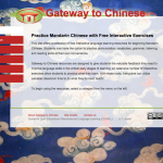 Online Language Course Presentation: Chinese I