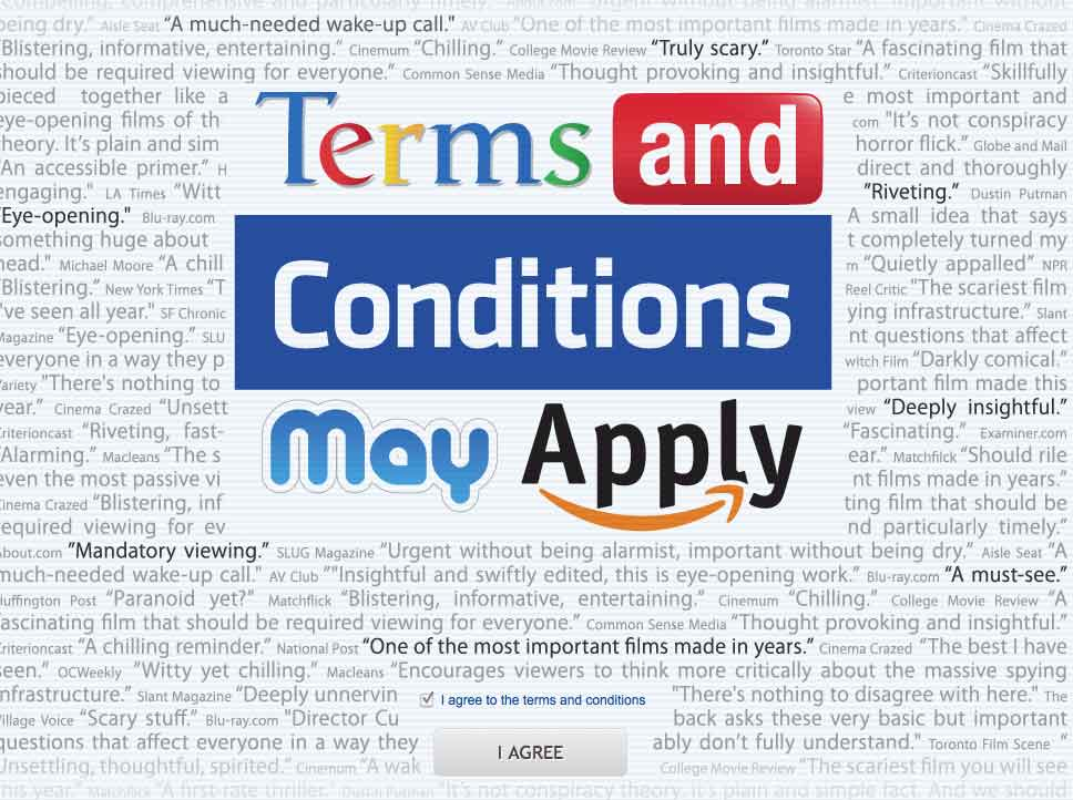 Film Screening: Terms and Conditions May Apply
