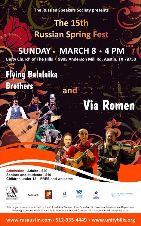 Via Romen and Flying Balalaika Brothers Concert