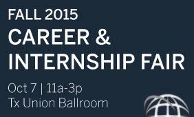 Fall 2015 Career and Internship Fair