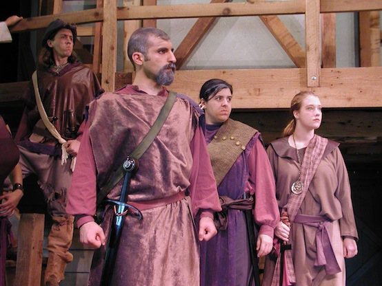 Henry V performed by the Shakespeare at Winedale Summer Class