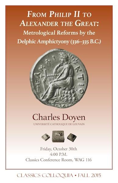 Charles Doyen, Université catholique de Louvain