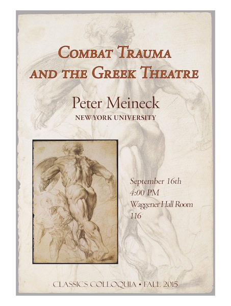 Peter Meineck, New York University
