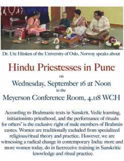 Hindu Priestesses (Strī Purohitā) in Pune