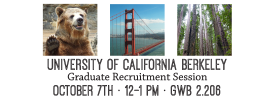 UC Berkeley Graduate Recruitment Session