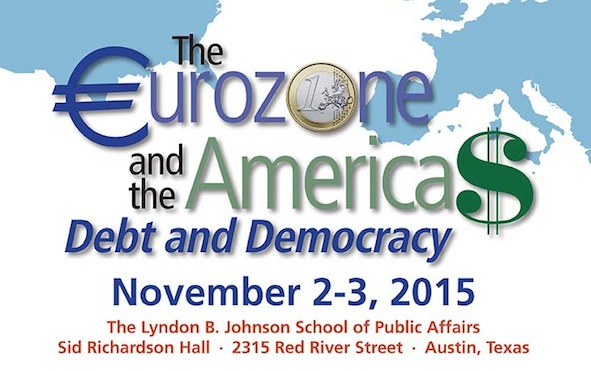 Conference: The Eurozone and the Americas: Debt and Democracy, Nov 2-3