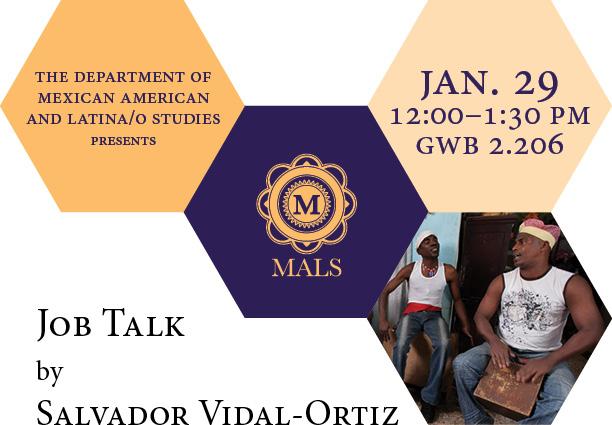 Job Talk by Salvador Vidal-Ortiz