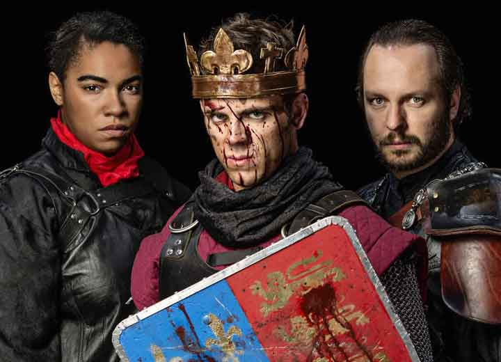 Henry V performance by the American Shakespeare Center