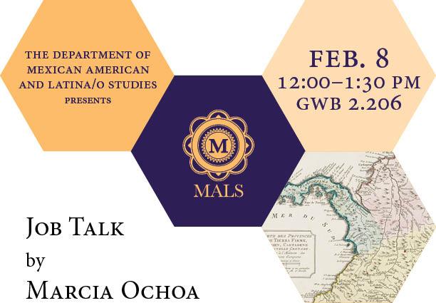 Job Talk by Marcia Ochoa