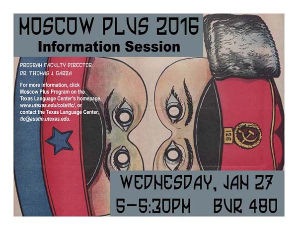 Moscow Plus 2016 information session