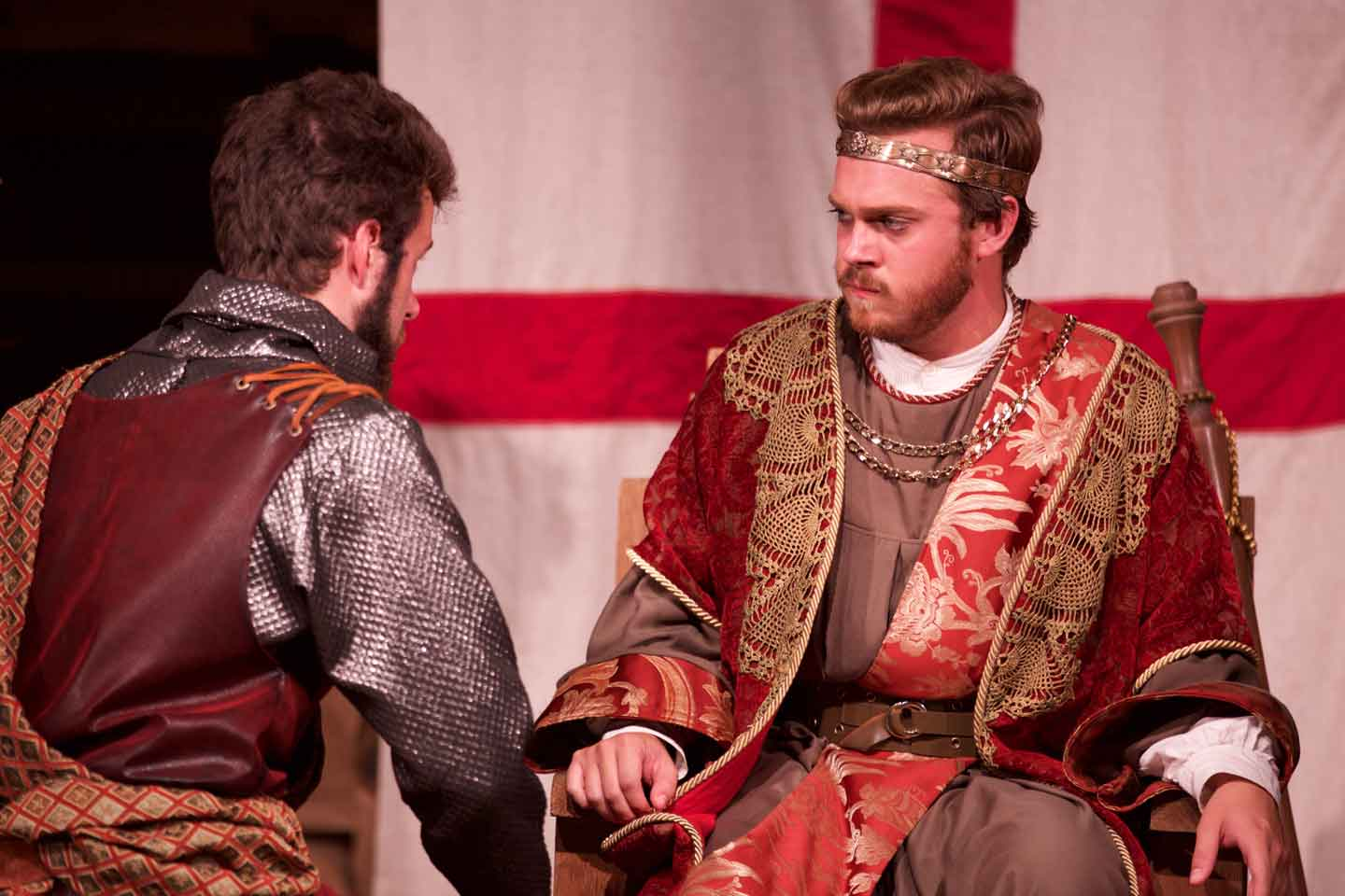 King John on tour at American Shakespeare Center by 2016 Shakespeare at Winedale Summer Class