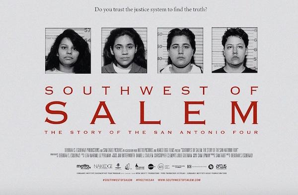Southwest of Salem