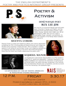 P.S. Poetry and Activism