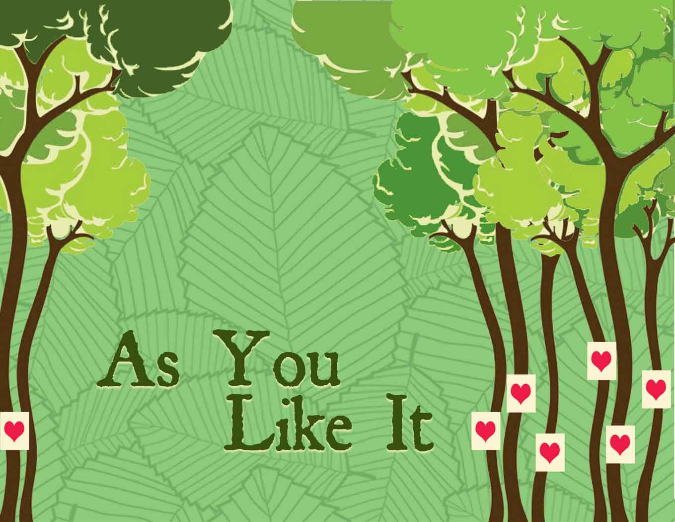 As You Like It performed by the Shakespeare at Winedale Summer Class