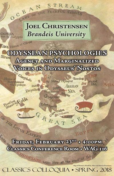 Joel Christensen, Brandeis University: