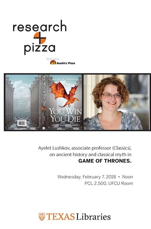 Research+Pizza with Ayelet Haimson-Lushkov