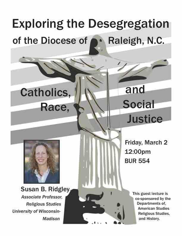 Public Lecture: Sue Ridgley,