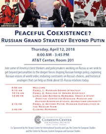 Peaceful Coexistence? Russian Grand Strategy Beyond Putin
