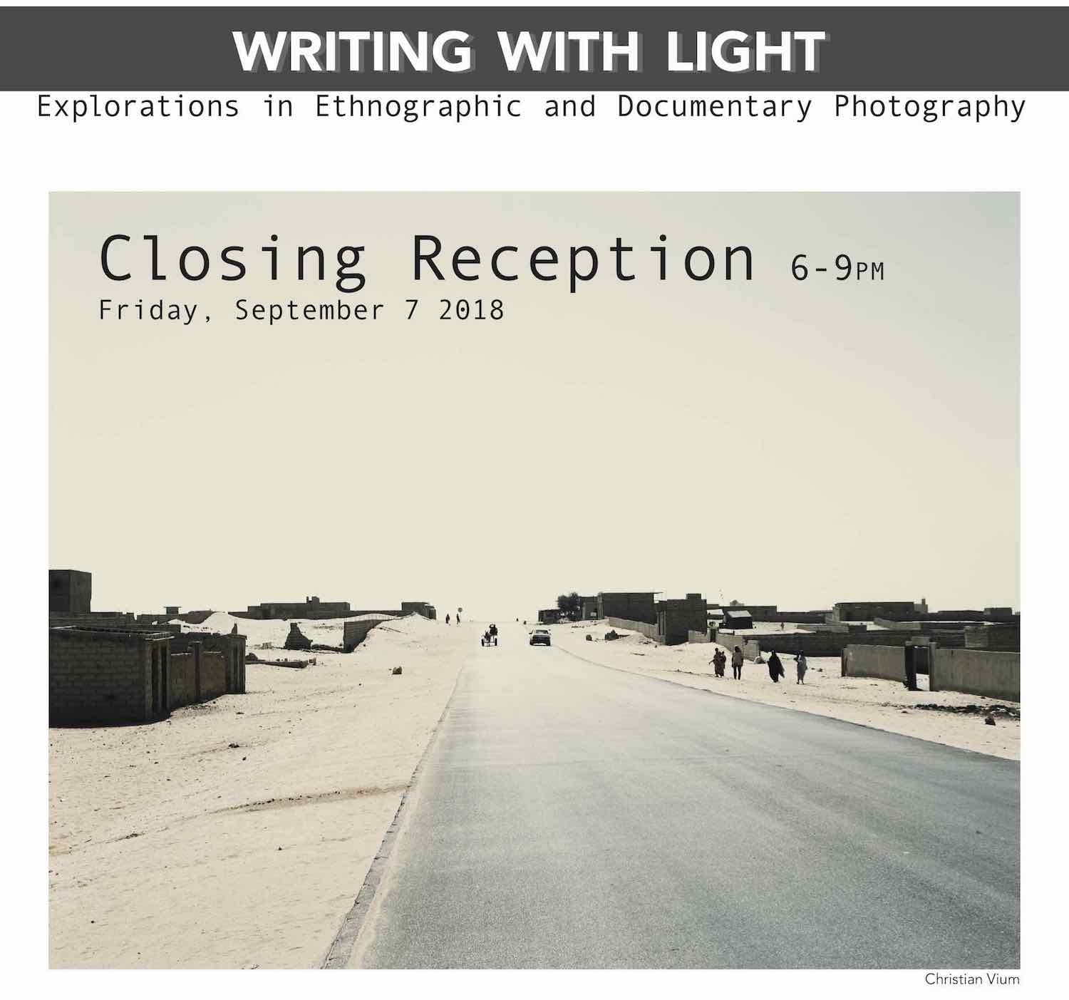 Writing with Light: Explorations in Ethnographic and Documentary Photography