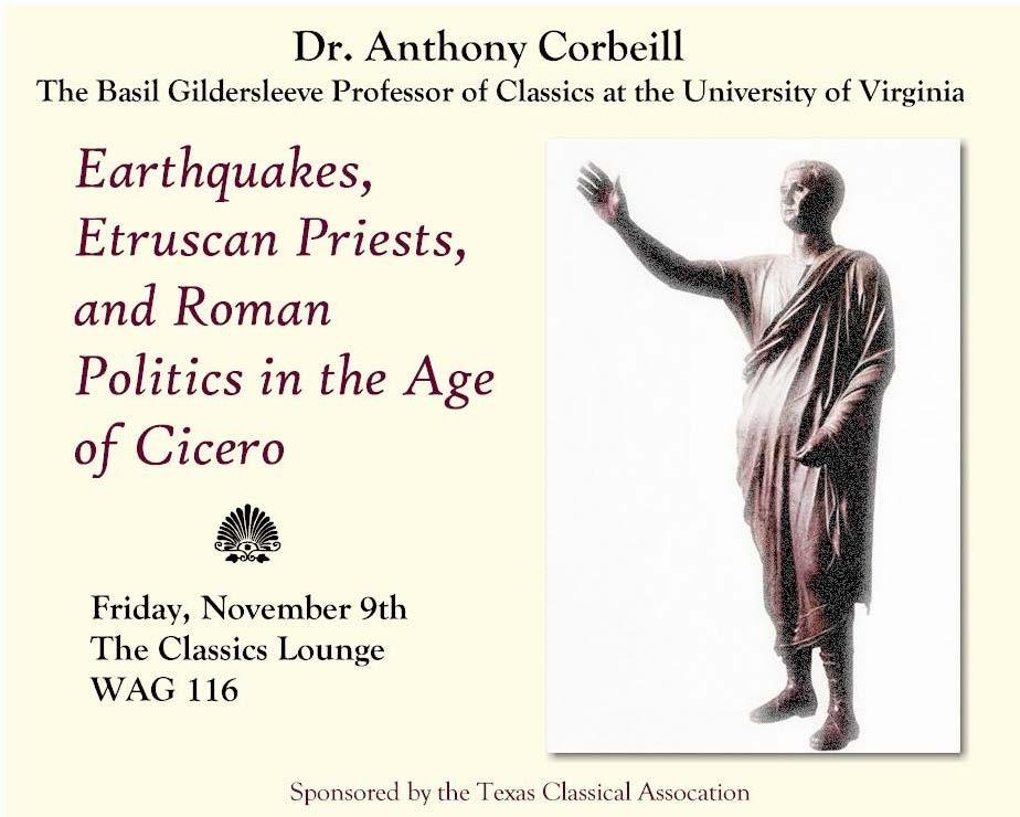 Anthony Corbeill, University of Virginia