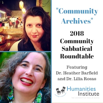 Community Archives: A Roundtable and Reception in Honor of the 2018 Community Sabbatical Grantees