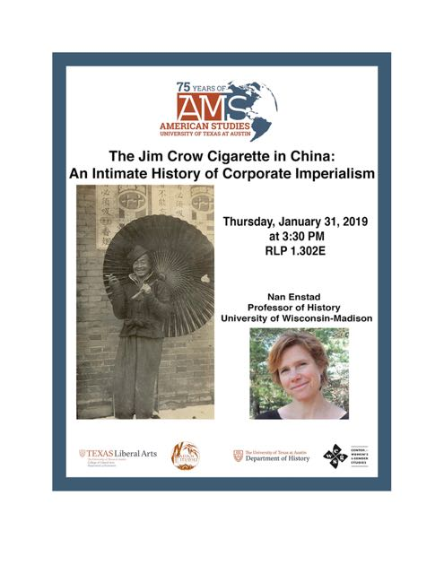 The Jim Crow Cigarette in China: An Intimate History of Corporate Imperialism