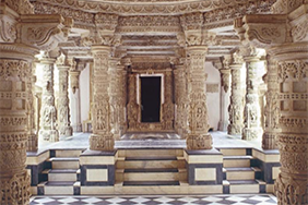 Photo Exhibit: Structures of Striving - Jainism and Nonviolence in Temple Architecture
