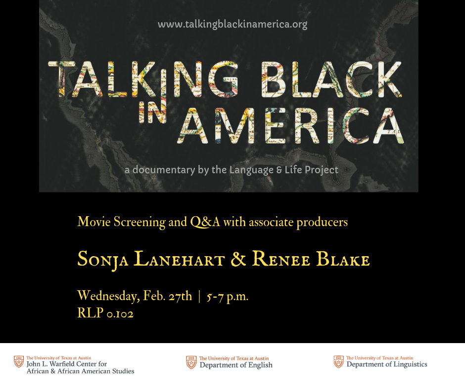 Talking Black in America