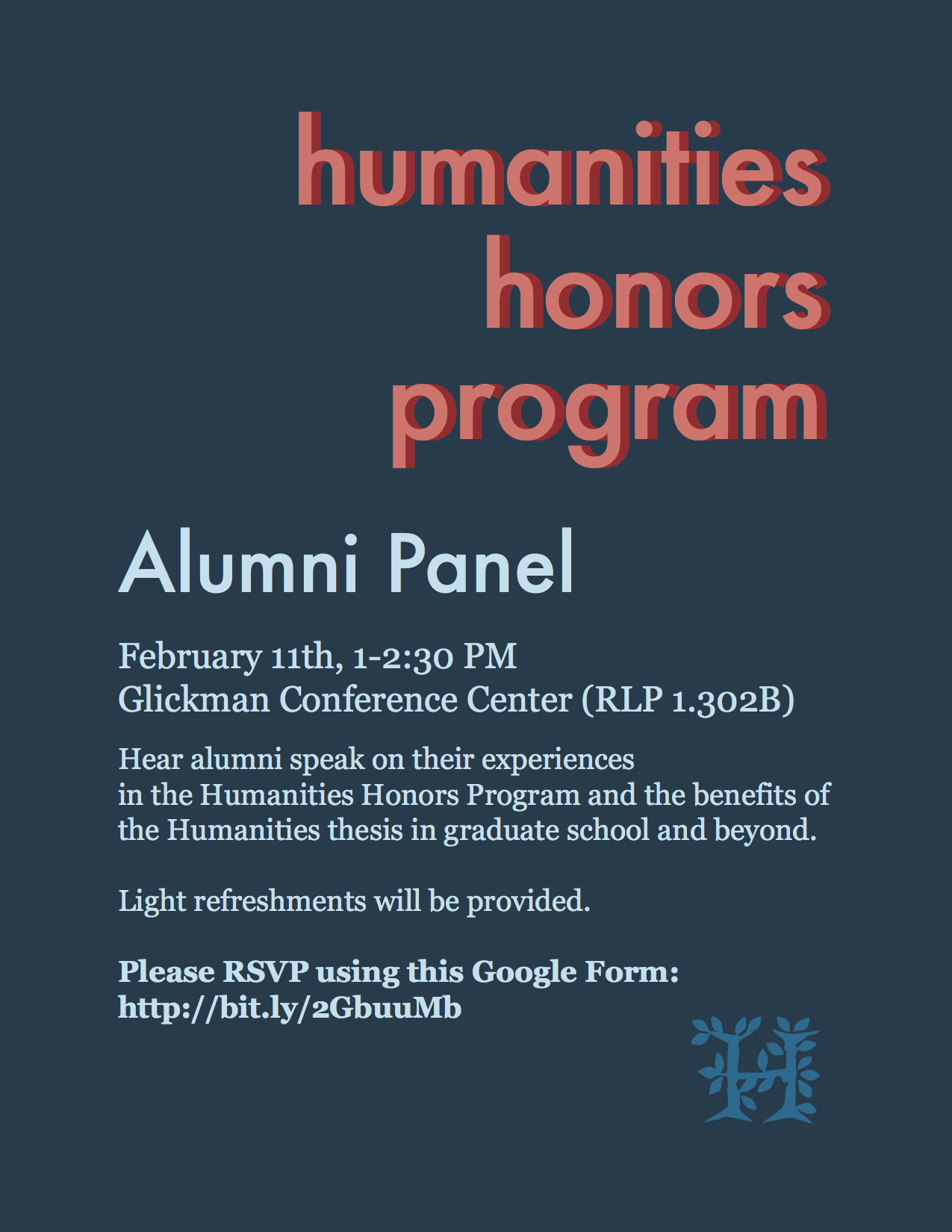 Humanities Alumni Panel