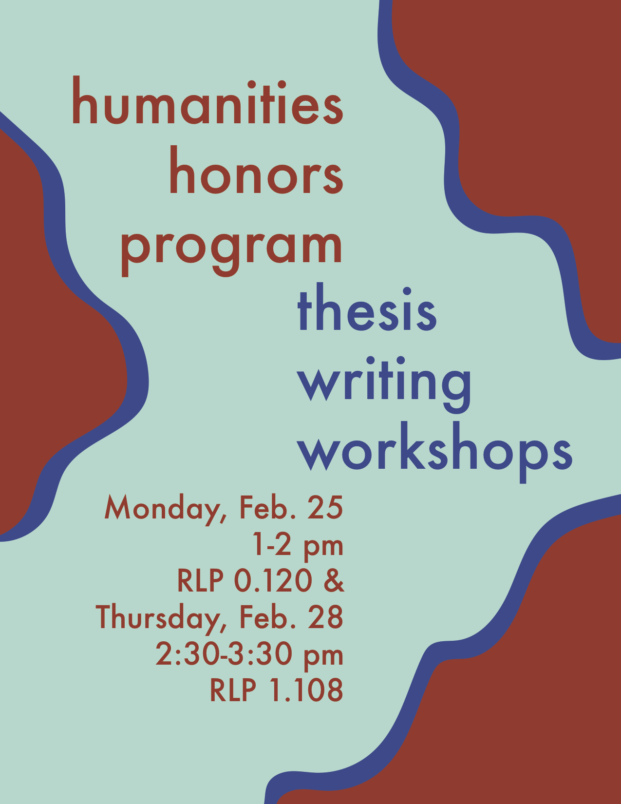 Humanities Thesis Workshops: Finding a Thesis Supervisor and General Requirements