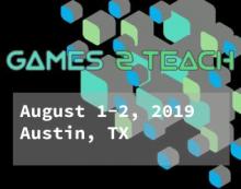 Games2Teach Summer Workshop